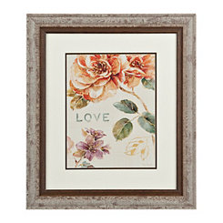 Floral Love Framed Gallery Print