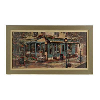 Jardin de Notre Dame Framed Art Print