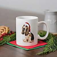 Christmas Basset Hound Mug