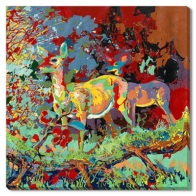 Deer Canvas Gallery Wrap