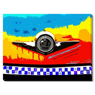 Hood Ornament Canvas Gallery Wrap