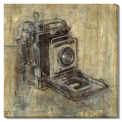 Camera Canvas Gallery Wrap