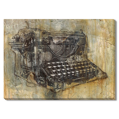 Typewriter Canvas Gallery Wrap