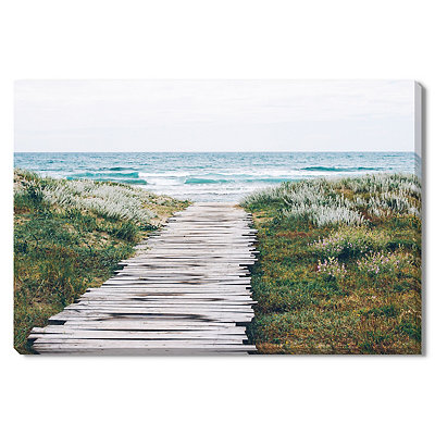Path to the Coast Canvas Gallery Wrap
