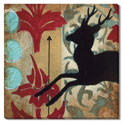 Deer Prudence Canvas Gallery Wrap