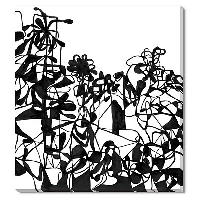 Wild Flowers Canvas Gallery Wrap