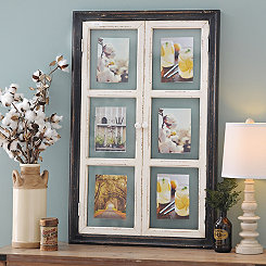 Leigh Door Windowpane Collage Frame