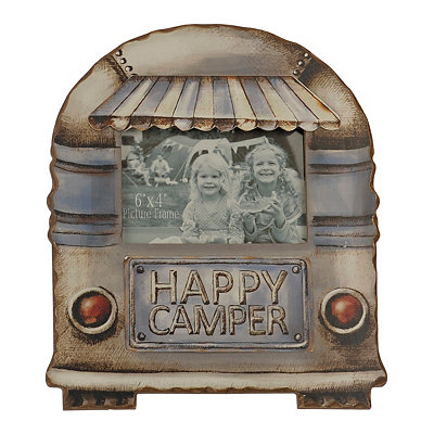 Happy Camper Picture Frame, 4x6