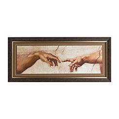 Creation of Adam Framed Art Print