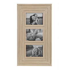 Cream Ridged Collage Frame
