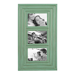 Turquoise Ridged Collage Frame