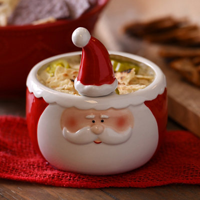 Santa 2-pc. Dip Bowl and Spreader Set