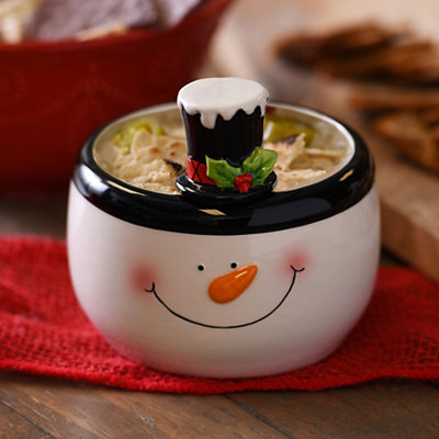Snowman 2-pc. Dip Bowl and Spreader Set