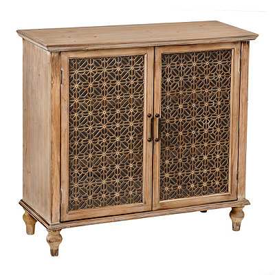 Weathered Clifton Glass Cabinet