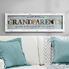 Grandparents Scrapbook Shadowbox