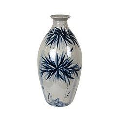 Blue and White Anita Vase