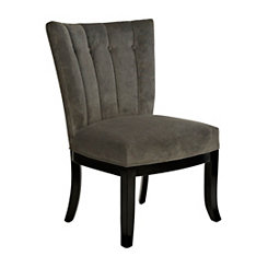 Bethany Smoke Gray Accent Chair