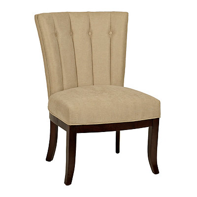 Tan Bethany Accent Chair
