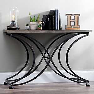 Ashton Crescent Leg Console Table
