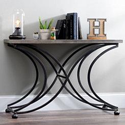 Ashton Crescent Leg Console Table