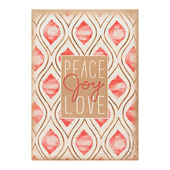 Peace Joy Love Sachet