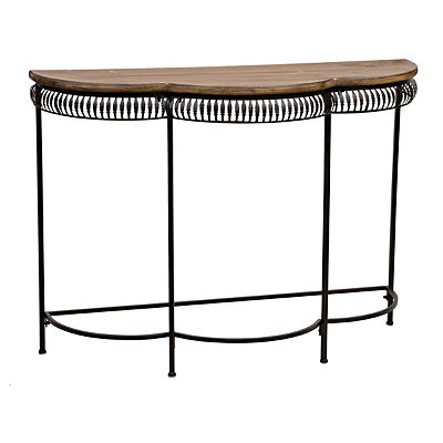 Chelsea Scalloped Console Table