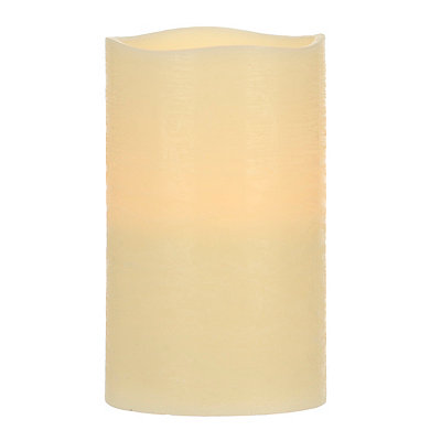 Ivory LED Candle, 9.75 in.
