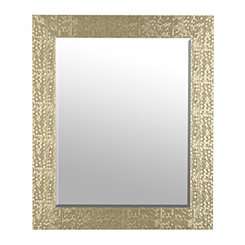 Champagne Mosaic Mirror, 30x36 in.