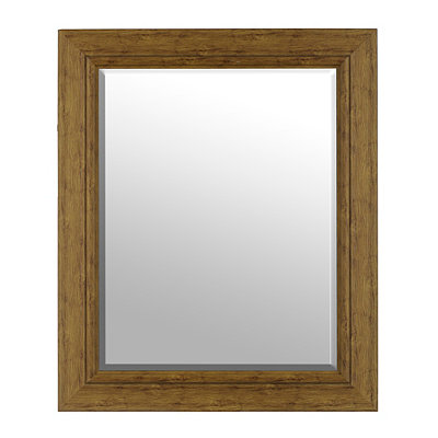 Natural Wood Mirror, 30x36 in.
