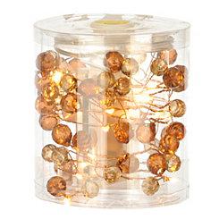 Amber Stones String Lights
