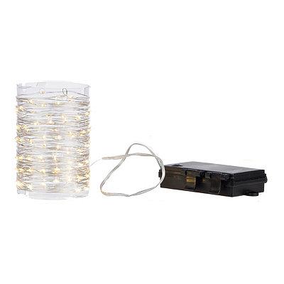 Clear Mini String Light Garland, 32 ft.