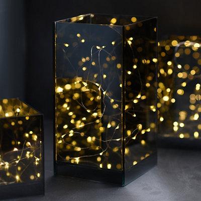 Large Pre-Lit Infinity Decorative Box