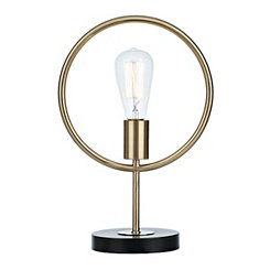 Golden Ring Edison Bulb Lamp