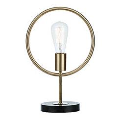 Golden Ring Edison Bulb Lamp