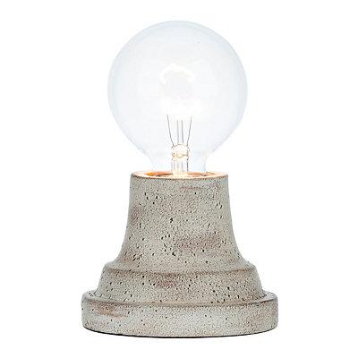 Sandy Pearl Edison Bulb Uplight