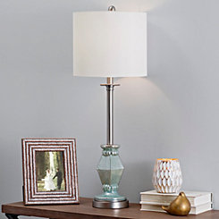 Blue Mercury Diamond Buffet Lamp