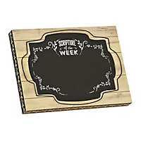 Scripture of the Week Chalkboard Easel