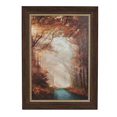 Sunlit Corridor Framed Art Print