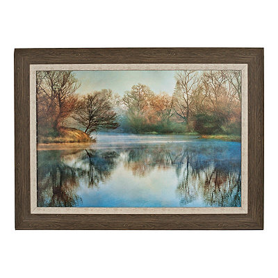 Pointski Lake Framed Art Print