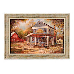 General Store Framed Art Print