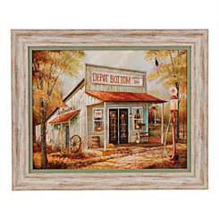 Antique Depot Framed Art Print
