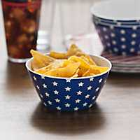 Blue Stars America Bowls, Set of 4