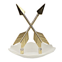 Gold Arrow Ring Holder