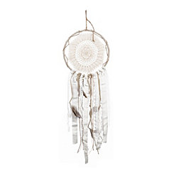 Cream Metal Dream Catcher