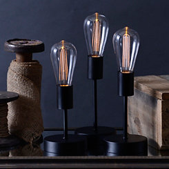 LED Edison Bulb Decorative Lights, Set of 3
