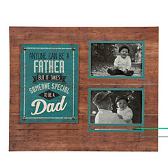 To Be a Dad Wood Collage Frame