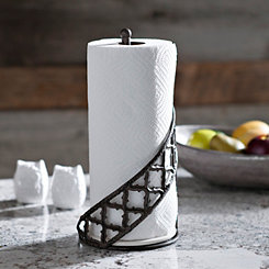 Kingston Quatrefoil Paper Towel Holder