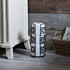 Kingston Quatrefoil Toilet Paper Holder
