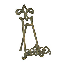 Green Fleur-de-Lis Cookbook Holder