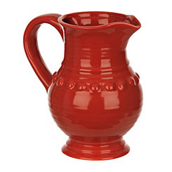Red Dots Belly Pitcher